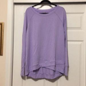 Danskin XXL Lavender Sweatshirt.